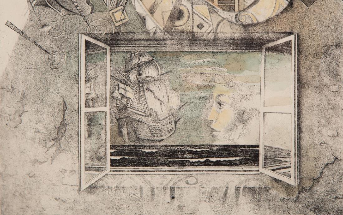 """Tomasz Setowski (b. 1961) """"Kiss"""" - 5"""