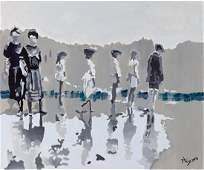 Magdalena Szyszkowska (b. 1972) Walk on a backwater,