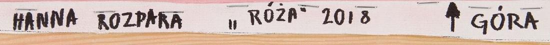 Hanna Rozpara (b. 1990) Rose, 2018 - 3