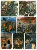 """Grzegorz Rosinski (b. 1941) """"Thorgal"""" - Scarlet fire,"""