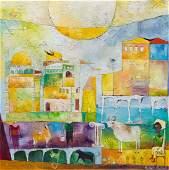 Agnieszka Pawlowska (b. 1982) Full moons in a bull,