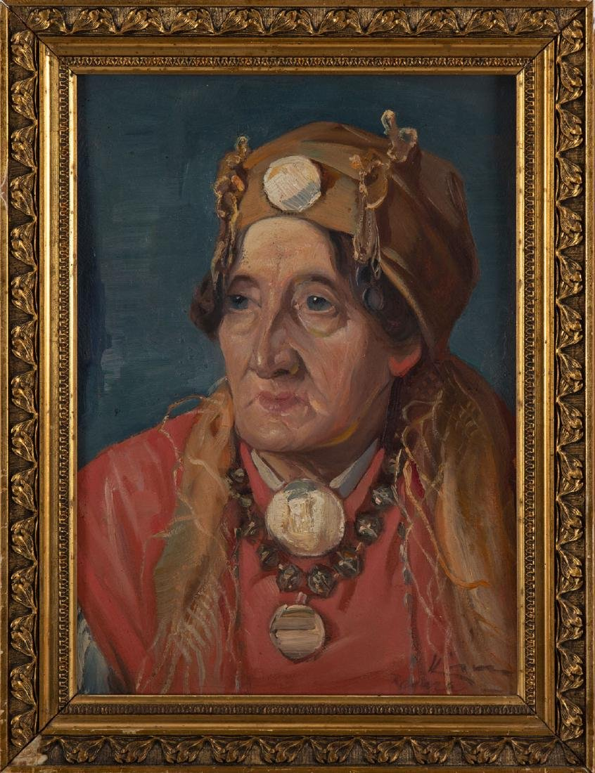 Unknown Artist, 20th century, Portrait of a woman - 6
