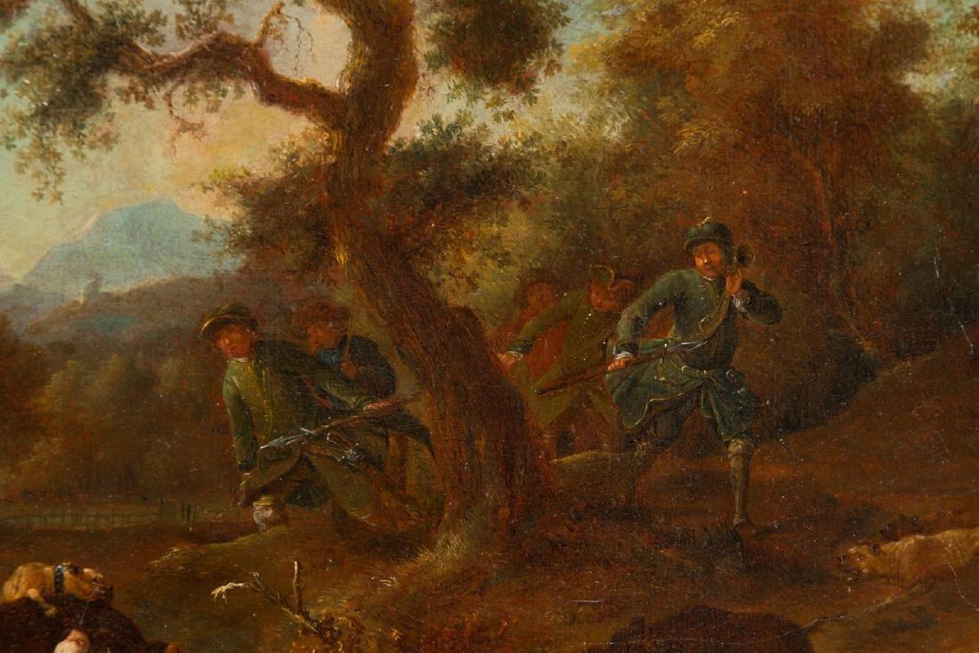 Unknown Artist, 19th century, Loner hunting - 3