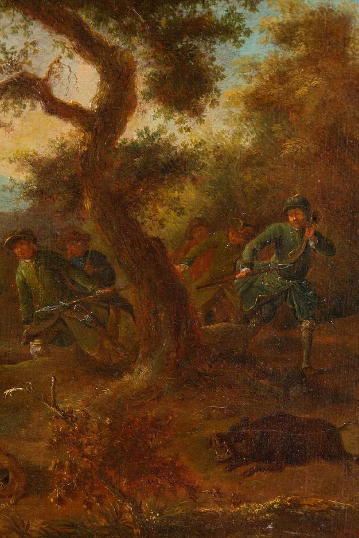 Unknown Artist, 19th century, Loner hunting - 4