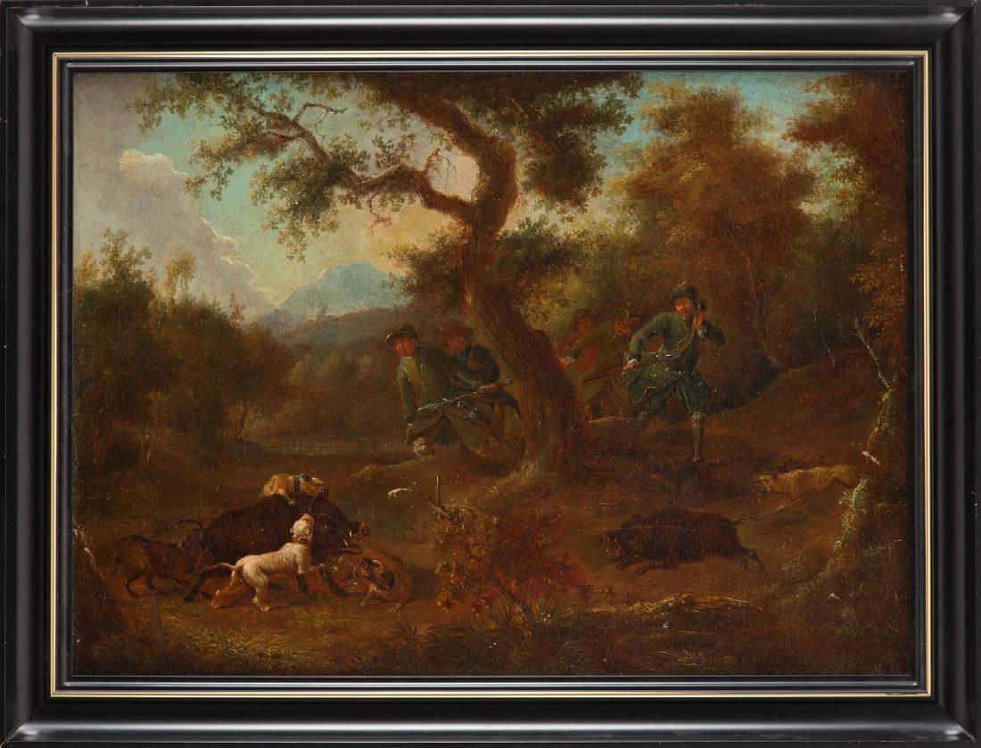 Unknown Artist, 19th century, Loner hunting - 5