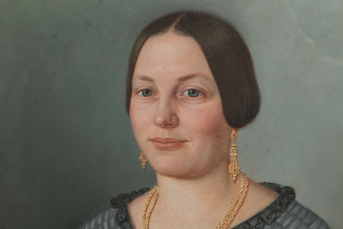 Unknown Artist 2nd half of the 19th century, Portrait - 4