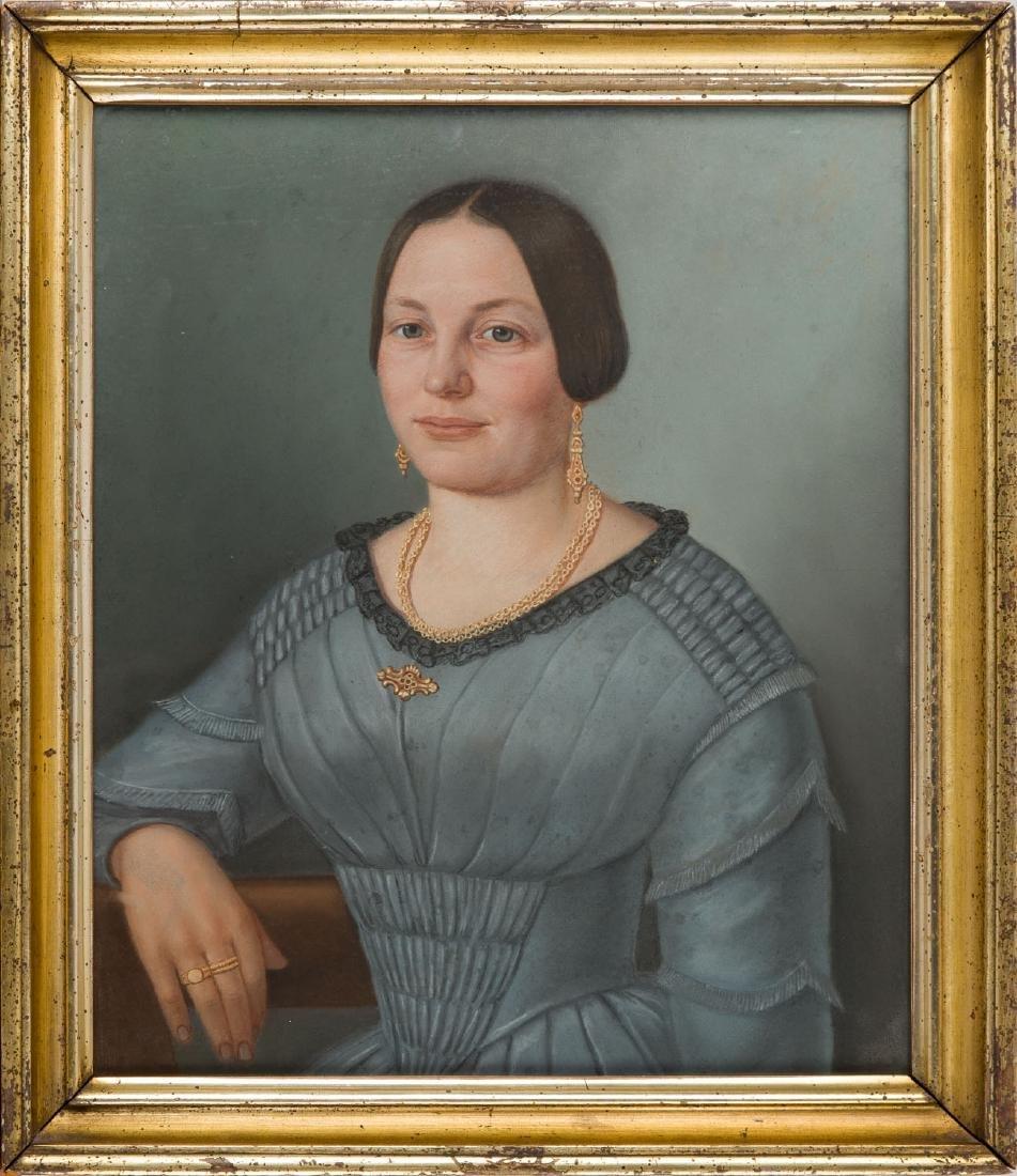 Unknown Artist 2nd half of the 19th century, Portrait - 5