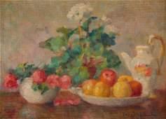 Zofia Albinowska-Minkiewiczowa (1886-1971) Still life