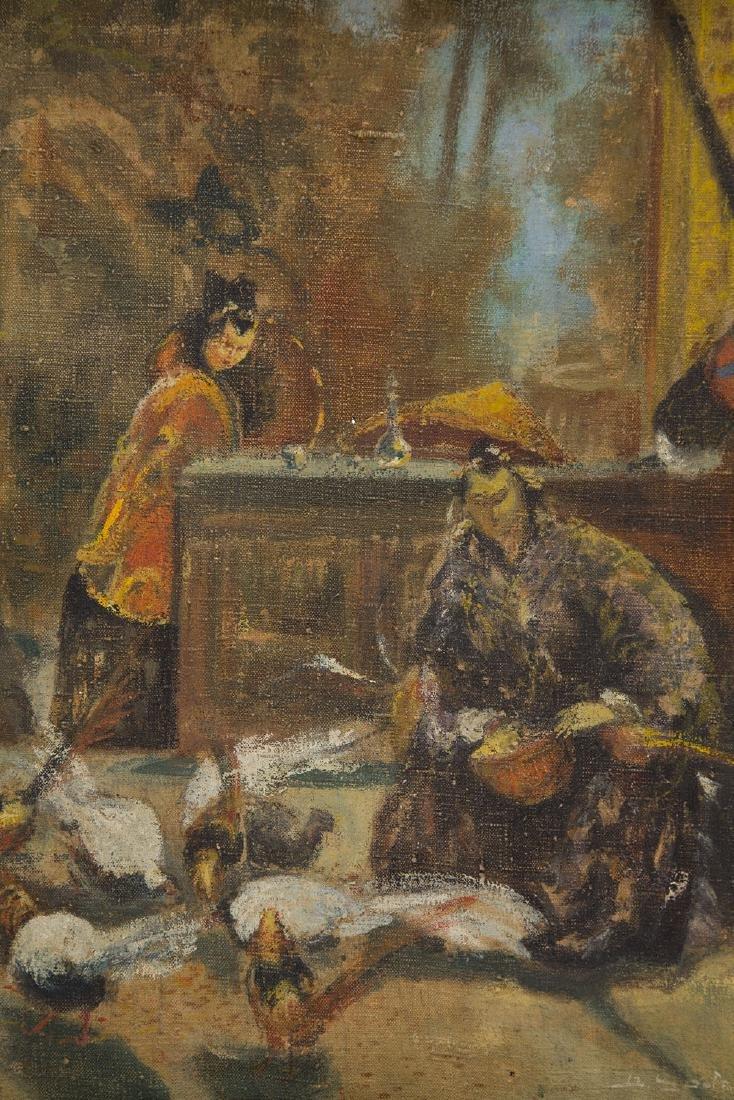 Unknown Artist 20th century, Oriental scene - 3