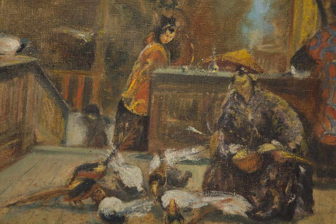 Unknown Artist 20th century, Oriental scene - 4