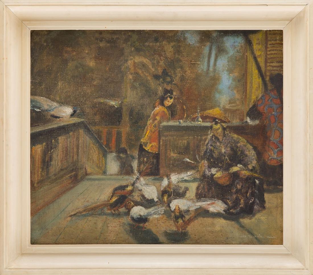 Unknown Artist 20th century, Oriental scene - 5
