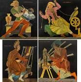 Zofia Stryjenska (1891 - 1976) 'Crafts' cicle, 1929-30