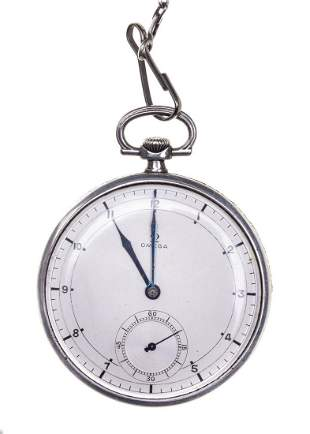 Omega watch in an art deco type