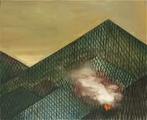 Tomasz Kowalski (b. 1984) Untitled (Fire in the