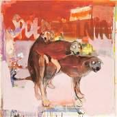 """Radek Szlaga (b. 1979) """"Cooperative"""", 2014 oil/canvas,"""