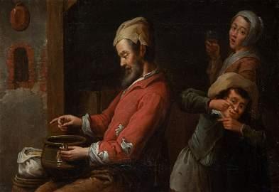 Krzysztof Lubieniecki (1659 - 1729), Scene with