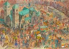 Edward Dwurnik, (1943 - 2018), 'Münster V' from
