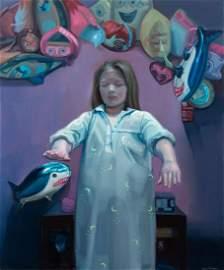 Sara Winkler (b. 1995) Chodzac we snie, 2020