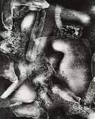 """Bronislaw Schlabs  1920 - 2009) """"Photogram 16/58A"""","""