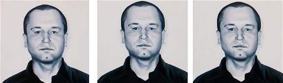 Rafal Bujnowski (b. 1974), Self-portrait, 2004,