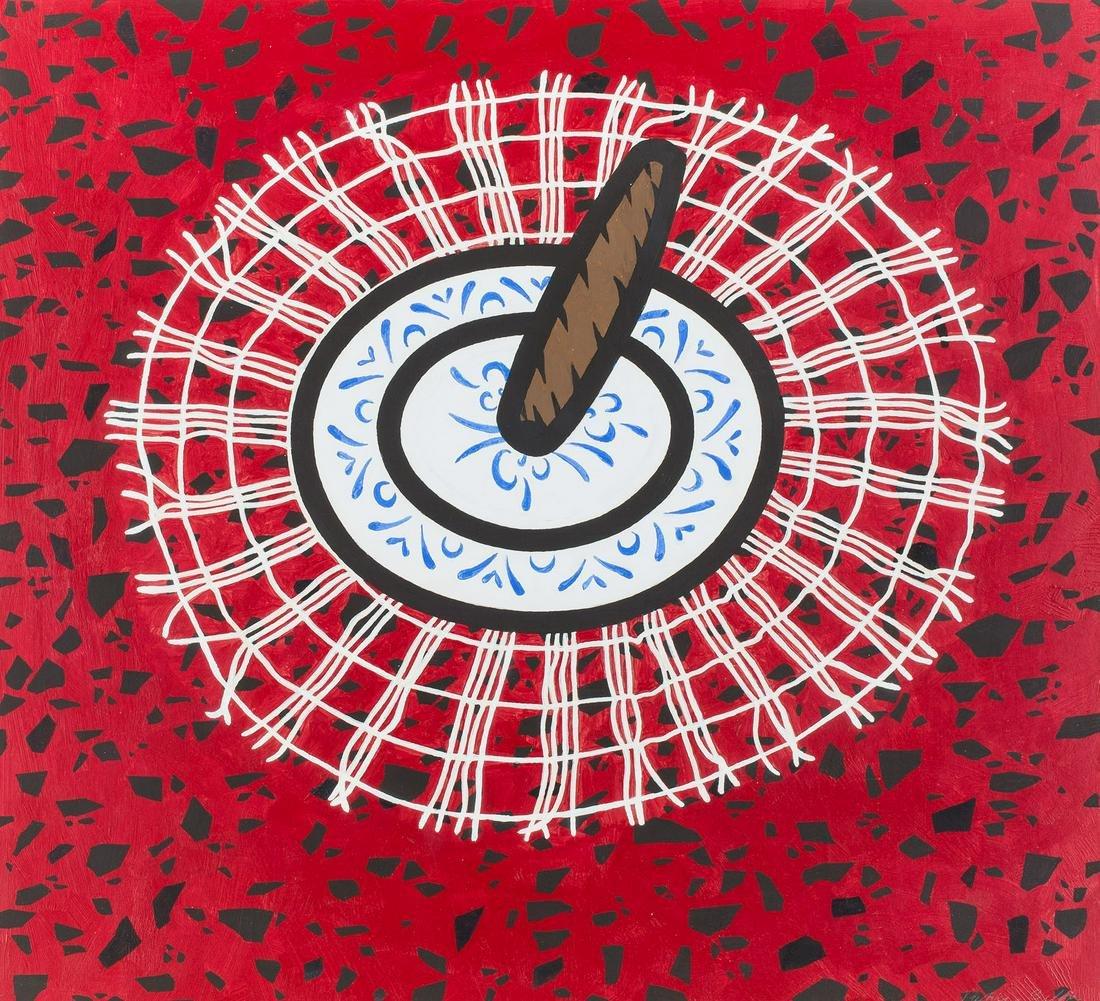 "Patrick Caulfield (1936 - 2006), ""Cigar"", circa 1974,"