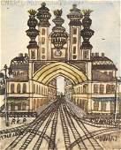 Nikifor Krynicki (1895 - 1968), Fantastic architecture