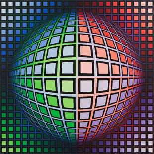 """Victor Vasarely (1906 - 1997) """"VEGA-BK"""", 1976,"""