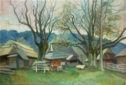 Stanislaw Kamocki,'Highlander farmhouse (At the