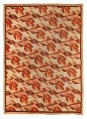 Zofia Stryjenska,Autumn Rug, wool, 207 x 285 cm,