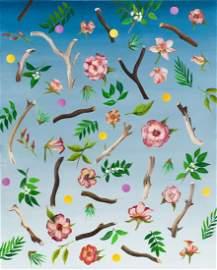 "Joanna Mlacka (b. 1981), ""Garden I"", 2019, oil/canvas,"