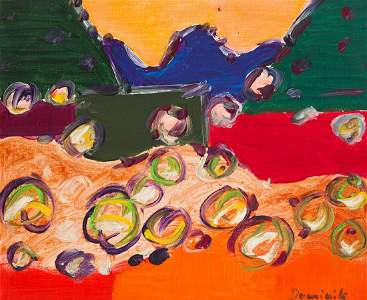 "Tadeusz Dominik (1928 - 2014) ""Landscape"", 1980"