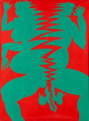 "Jan Dobkowski (b. 1942) ""Impossible unity"", 1969"