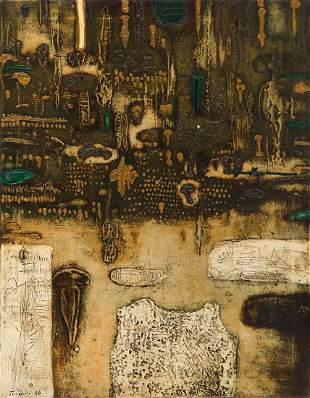 "Jan Tarasin (1926 - 2009) ""Rain"", 1964"