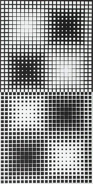 "Victor Vasarely (1906 - 1997) ""Novae - Kat"", 1959-1973"