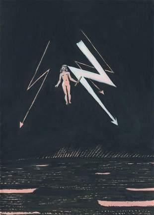Aleksandra Waliszewska (b. 1976) Bez tytulu (Widzenie),