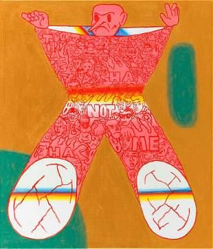 "Slawek Czajkowski / Zbiok (b. 1982) ""Not me"", 2020"