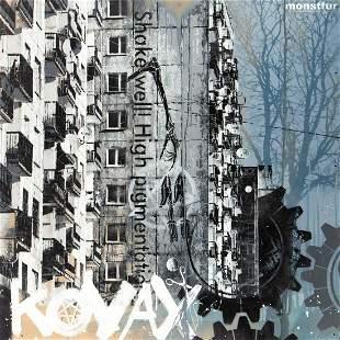 """Monstfur (d. 2020) """"Kovax"""", 2012"""