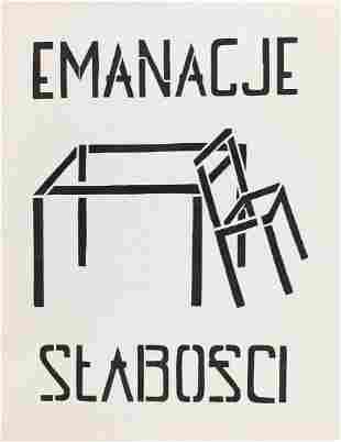 """Grupa Twozywo (d. 2011) """"Emanations of Weakness"""", 2003"""