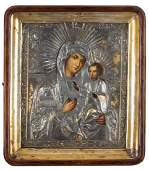 Icon - Iverskaya Mother of God, 1838 , Moscow,