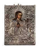Icon - Achtyrskaya Mother of God, 1845 , Russia,