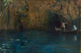 Feliks Michal Wygrzywalski, Charon's boat, 1917,