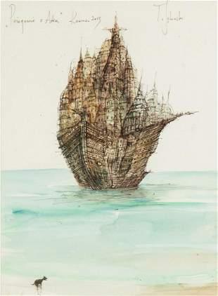 "Tomasz Setowski (b. 1961) ""Farewell with Ark"", 2013"