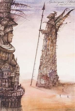 "Tomasz Setowski (b. 1961) ""The tale of a knight"", 2010"