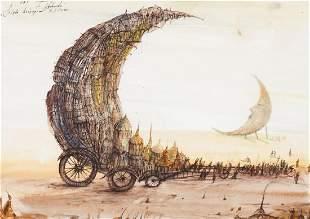 """Tomasz Setowski (b. 1961) """"Festival of moon"""", 2010"""