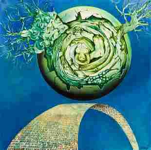 """Hilary Krzysztofiak (1926 - 1979) """"Creation of a"""