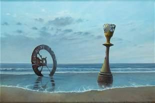 """Krzysztof Wisniewski (b. 1960) """"Dialogue with time"""","""