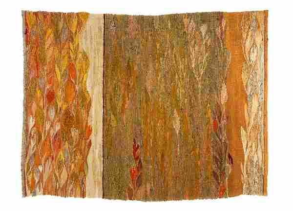 """Krystyna Wojtyna-Drouet (b. 1926), """"Comic"""", 2004, wool,"""