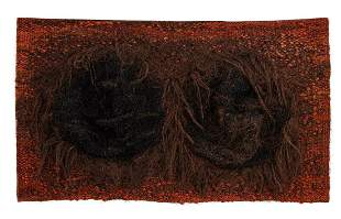 """Magdalena Abakanowicz (1930 - 2017), """"Relief with two"""