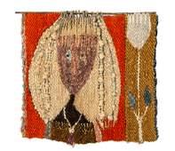 Krystyna Wojtyna-Drouet (b. 1926), Composition, wool,