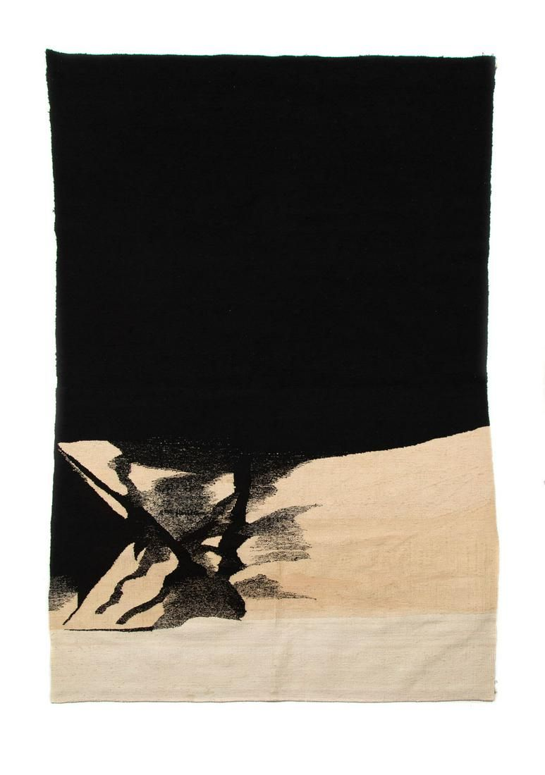 "Anna Michniewicz (b. 1953), ""Demos"", 1978, wool, linen,"